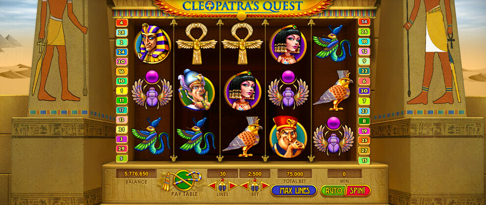 Cleopatra Slots Free Quest Slot Machine Game Caesars Games